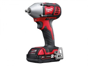 M18 BIW38-202C Compact 3/8in Impact Wrench 18 Volt 2 x 2.0Ah Li-Ion