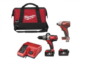 M18 BPP2A-402C Heavy-Duty Twin Pack 18 Volt 2 x 4.0Ah Li-Ion