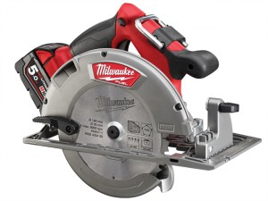 M18 CCS66-502C FUEL™ Circular Saw 190mm 18V 2 x 5.0Ah Li-ion