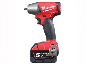 M18 FIWF38-502X Fuel™ 3/8in Friction Ring Impact Wrench 18 Volt 2 x 5.0Ah Li-Ion