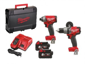 M18 ONEPP2-502X Fuel™ ONE-KEY™ Twin Pack 18 Volt 2 x 5.0Ah Li-Ion