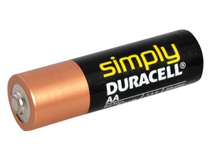 AA Alkaline Duracell RePack MN1500 Batteries Pack of 4