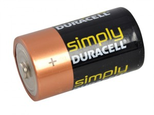 D Cell Alkaline Duracell RePack MN1300 Batteries Pack of 2