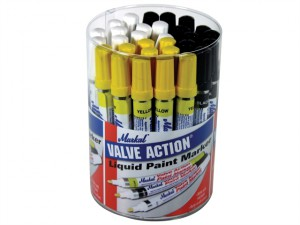 Valve Action Paint Markers (Tub of 24)