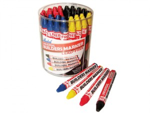 Builder's Markers (Tub of 48)