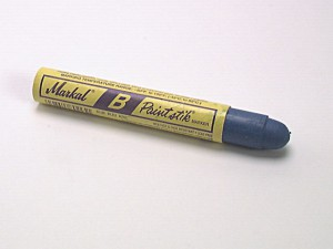 Paintstick Cold Surface Marker Blue