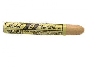 Paintstick Cold Surface Marker Yellow
