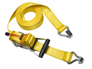 Ratchet Tie-Down J Hooks 8.25m