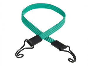Flat Bungee 80cm Green Double Hook
