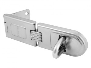 Wrought Steel Single Hinged Hasp 160mm