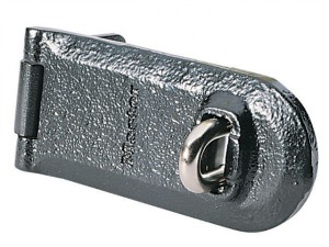 High Security Solid Iron Hasp 180mm