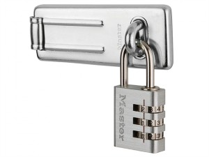 Hasp 89mm + 3-Digit Combination Padlock 30mm