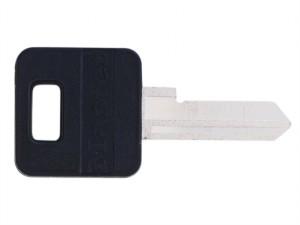 8080KCV - Blks Single Keyblank
