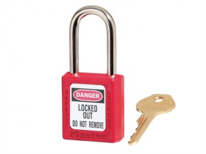 Lockout Padlock – 38mm Body & 6mm Hardened Steel Shackle