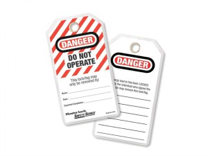Lockout Tags - Do Not Operate (Pack of 12)