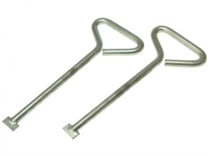 MLK12 Manhole Lifting Keys (Pack of 2) 304mm (12in)