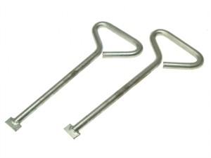 MLK20 Manhole Cover Lift Keys (Pack of 2) 508mm (20in)