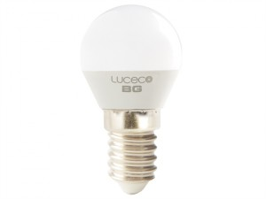 LED Mini Globe Bulb E14 Non-Dimmable 470 Lumen 5.2 Watt 2700K