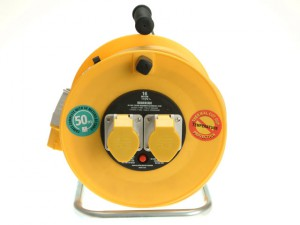 Cable Reel 50m 16A 110V Thermal Cut-Out