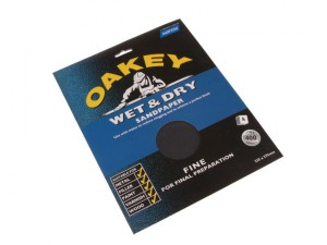 Flex Wet & Dry Paper Sanding Sheets 230 x 280mm Assorted (4)
