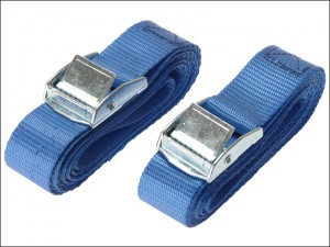 Cam Buckle 25mm x 2.5m (1in x 100in) 2 Piece