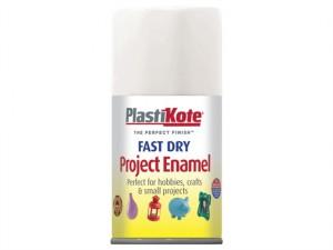 Fast Dry Enamel Aerosol Gloss White 100ml