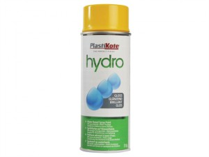 Hydro Spray Paint Yellow Gloss 350ml