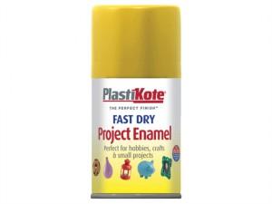 Fast Dry Enamel Aerosol Buttercup Yellow 100ml