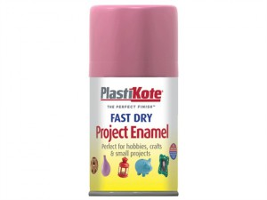 Fast Dry Enamel Aerosol Hot Pink 100ml