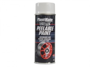Peelable Paint White Gloss 400ml