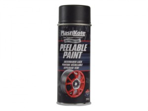Peelable Paint Black Matt 400ml