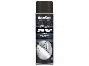 Auto Paint Black Matt 500ml
