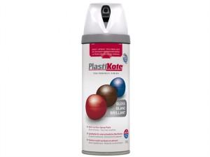 Twist & Spray Gloss White 400ml