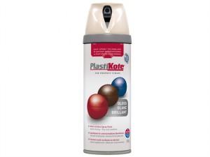 Twist & Spray Gloss Antique White 400ml