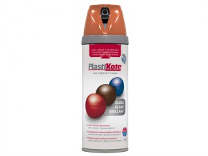 Twist & Spray Gloss Orange 400ml