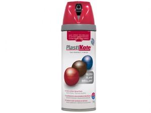 Twist & Spray Gloss Bright Red 400ml