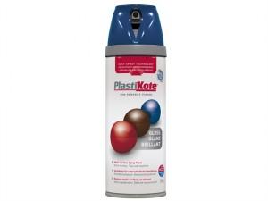 Twist & Spray Gloss Royal Blue 400ml