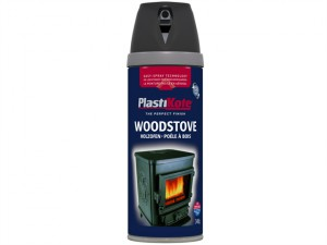 Twist & Spray Woodstove Paint Black 400ml