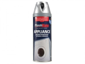 Twist & Spray Appliance Enamel Satin Chrome 400ml