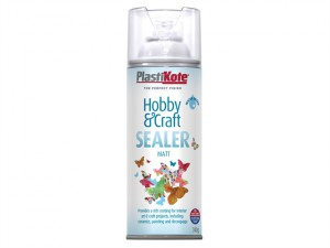 Hobby & Craft Sealer Spray Clear Matt 400ml