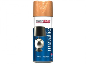 Metallic Spray Flat Copper 400ml