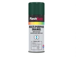 Multi Purpose Enamel Spray Paint Gloss Green 400ml