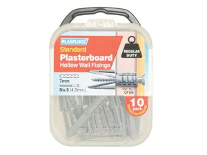 CF 104 Standard Plasterboard Fixings Pack of 10