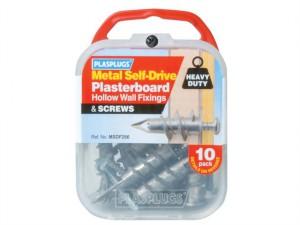 MSDF 256 Metal Self-Drill Fixings & Screws Pack of 10