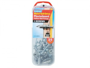 MSDF 257 Metal Self-Drill Fixings & Screws Pack of 25