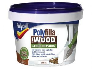 Polyfilla 2 Part Wood Filler White 500g