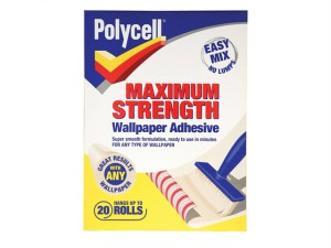 Maximum Strength Wallpaper Adhesive 20 Roll