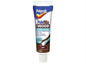 Polyfilla For Wood General Repairs Tube Dark 330g