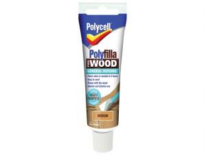 Polyfilla For Wood General Repairs Tube Medium 330g