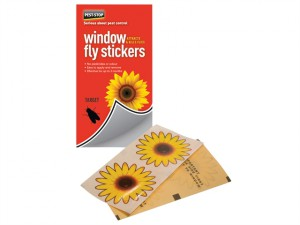 Window Fly Stickers Pack of 4